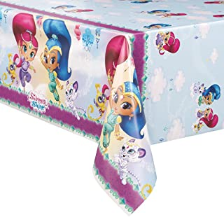 Unique Shimmer and Shine Plastic Tablecloth, 84