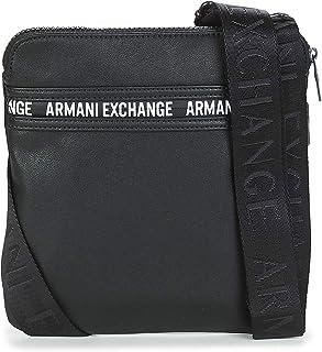 Armani Exchange 952212-9A028-00022 Bolso pequeñoCartera de mano hommes Negro Bolso pequeñoCartera