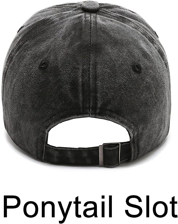 PFFY 1/2 Packs Vintage Washed Distressed Baseball Cap Dad Golf Hat for Men Women