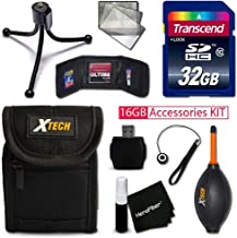IDEAL 32GB Accessories KIT for Samsung WB350F, WB50F, WB35F, Galaxy Camera 2, WB800F, WB250F, WB30F, DV150F, ST150F, WB850...