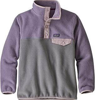 (パタゴニア) Patagonia Lightweight Synchilla Snap-T Pullover Fleece Jacket ガールズ?子供 ジャケット?トレーナー [並行輸入品]