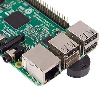 SunFounder 超小型 USBミニマイク,無指向性 PCマイク,ドライバー不要,USB2.0 Skype/VOIP音声認識ソフトウェア,Windows PC/Mac/Raspberry Pi 4B/3B+/3B/2B/1B+/1B/用