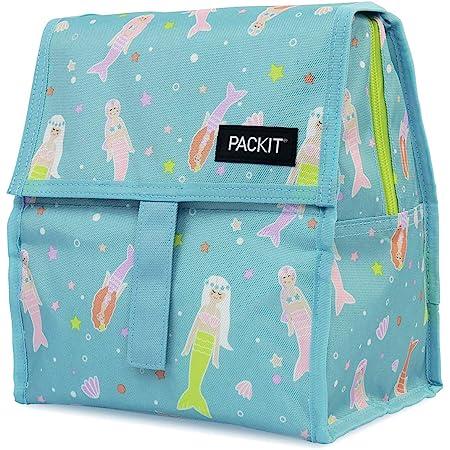 Mermaids Poly Canvas PackIt AMZ-SN-MER Freezable Snack Bag