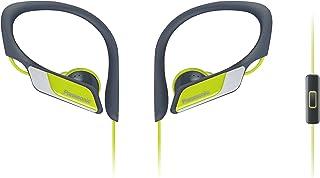 Panasonic RP-HS35ME-Y sporthörlurar (headset, mobiltelefon, utbytbara pass (S/M/L), IPX2, klämma) gul