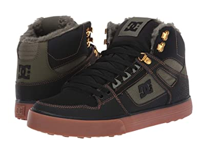DC Pure High-Top WC WNT (Black/Olive) Men