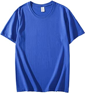 M R M T2020 Brand New Cotton Men's T-shirt Short-sleeve Man Tshirt Short Sleeve Pure Color Mentshirt T-shirts For Male Tops