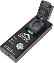 FBGA153/169 Mobile Memory Chip-Off Reader,ALLSOCKET eMMC169/153-USB3.0 Socket Restore Internal Memory Data Recovery for Unecrpted Android Mobile Samsung S2/S3/S4/S5,Galaxy Note2/3,LG HTC Lenovo