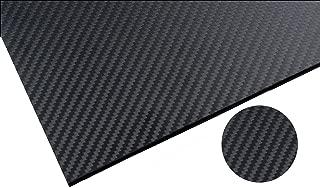 FiveEyes 200X300X3MM 3K 100% Carbon Fiber Sheet Twill Weave Panel Plate(Matte Surface)