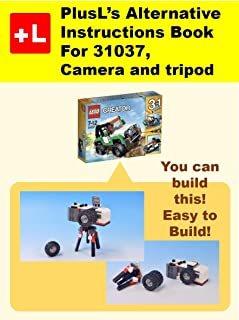 PlusL's Alternative Instruction For 31037,Camera and tripod: You can build the Camera and tripod out of your own bricks!