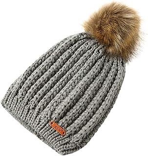 56fdef9ed76 Annhoo 2019 Women Fashion New Beanie Hats,Men Women Cute Baggy Warm Crochet  Winter Wool
