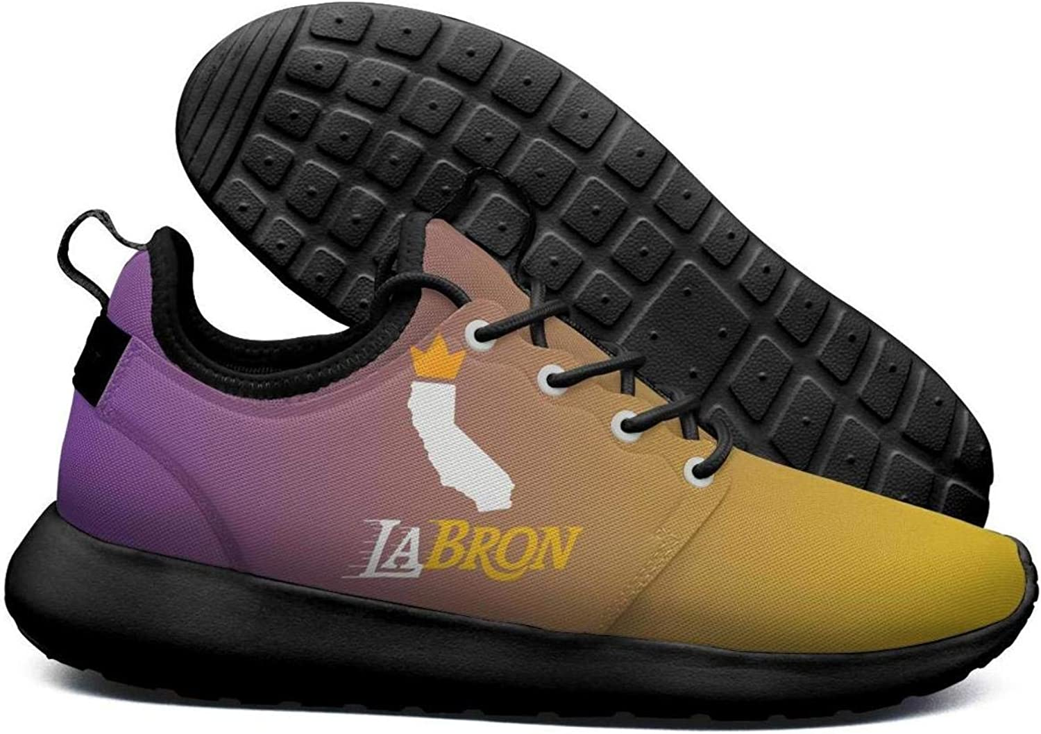 Womens Roshe Two Lightweight California map_LABRON_Crown Breathable Cross-Country Running mesh shoes