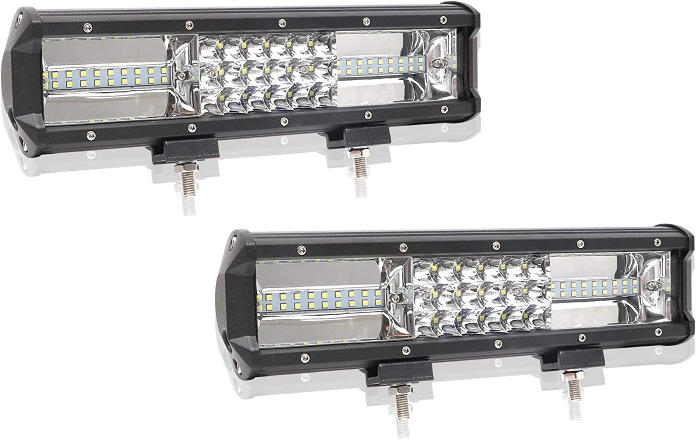 LED Light LED Light Bar 12 Inch 168W Spot Light LED Driving Lamp Off-Road Lights LED Work Light Boat Jeep Lamp Car Parts (UnitCount   2pcs)