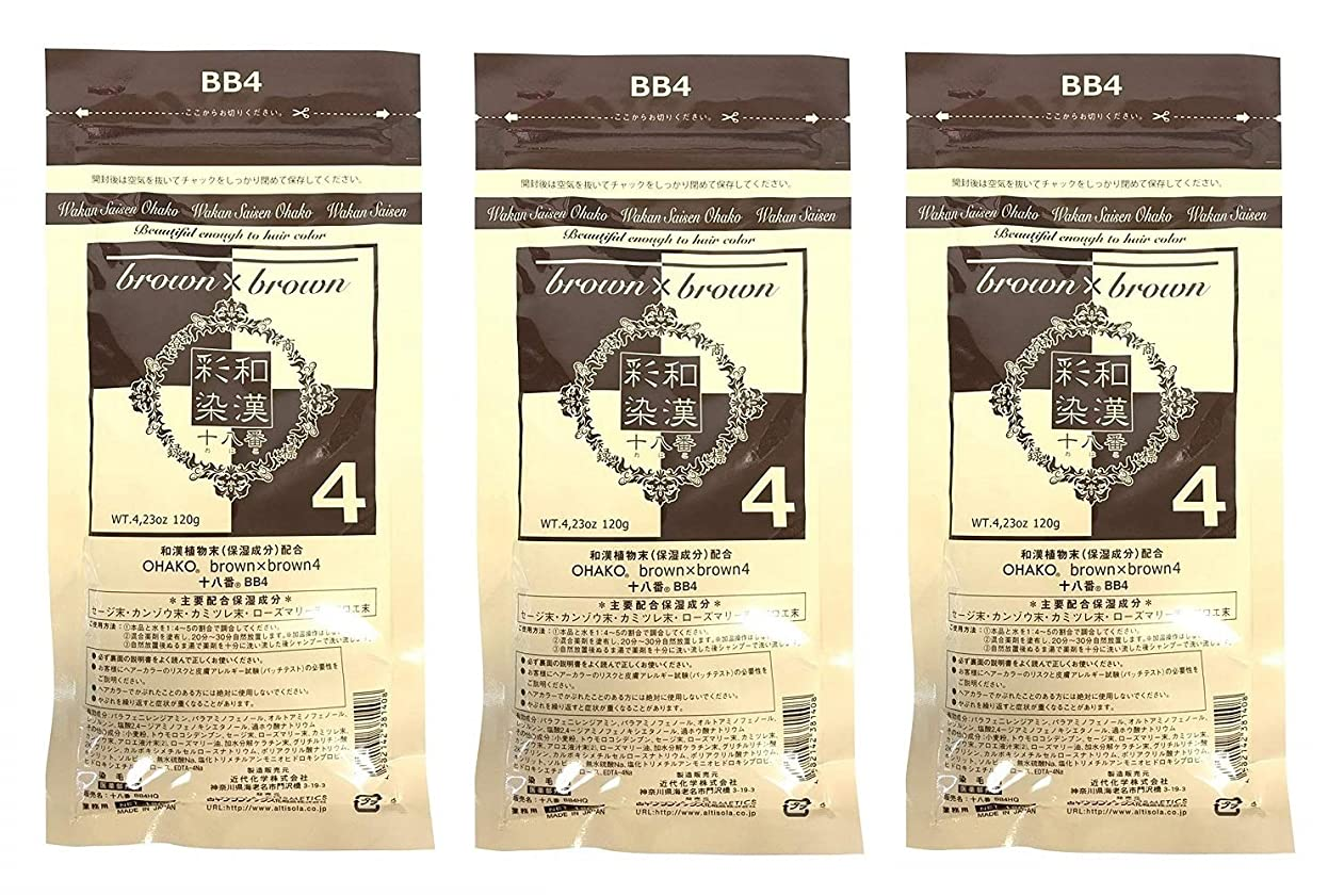 ジョグドローバリケード【3個セット】グランデックス 和漢彩染 十八番 120g BB4