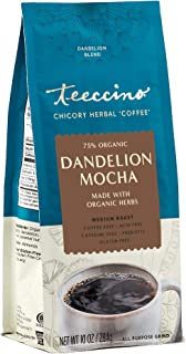 Sponsored Ad - Teeccino Coffee Alternative – Dandelion Mocha – Detox Deliciously with Dandelion Herbal Coffee That's Prebi...