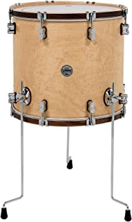 PDP Concept Maple Classic Floor Tom with Tobacco Hoops 18 x 16 in. Natural