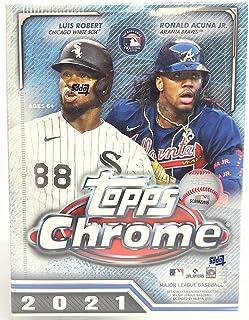 2021 Topps Chrome Baseball Trading Cards Blaster Box