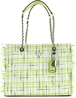 Guess Cessily Tote Lime Multi