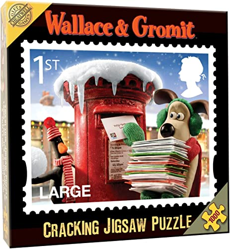 Cheatwell Games Wallace &  it 1st Class Weißachts Stempel 1000 ück Puzzle