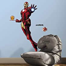 Asian Paints Nilaya Iron Man Giant Wall Sticker with Glow