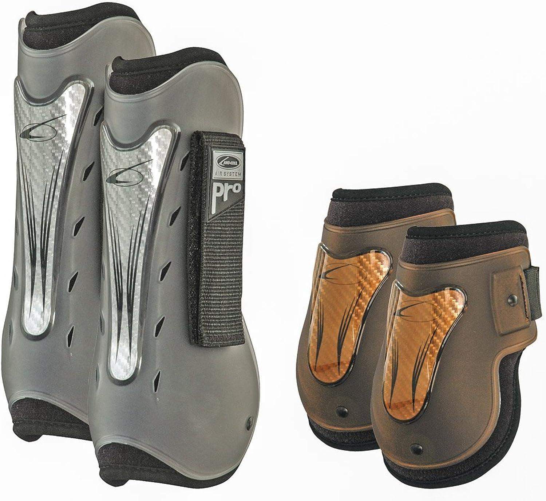 Laminato Set 4PZ Tendon e Fetlock Boots Neoprene Mod Air Pro Carbon