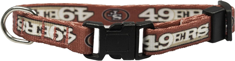 NFL San Francisco 49ers Team Pet Collar, XS