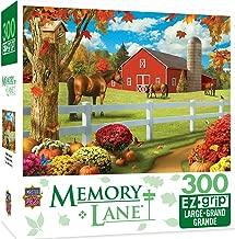MasterPieces Memory Lane Rolling Pastures 300 Piece EZ Grip Jigsaw Puzzle