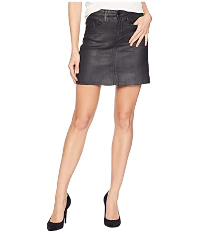Blank NYC Black Coated Mini Skirt in Spartacus (Spartacus) Women