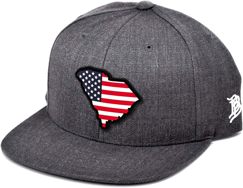Branded National uniform free shipping Sacramento Mall Bills South Carolina Rogue PVC Patriot Patch Classic Sna