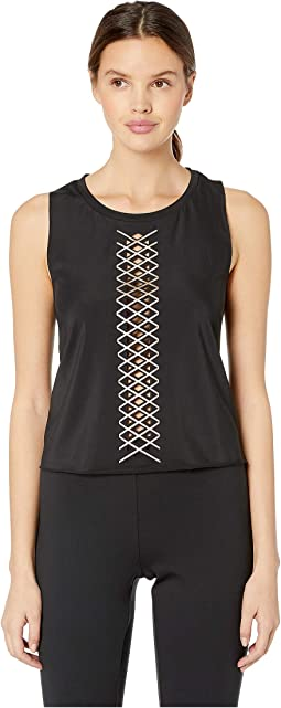Interlace Pixelate Racerback