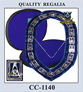 masonic past master collars