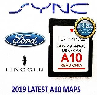 Ford Lincoln A10 Navigation SD Card USA/Canada