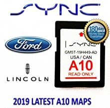 Ford Lincoln A10 Navigation SD Card USA/Canada
