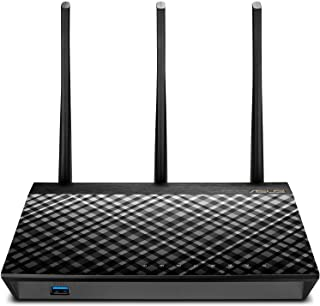 Asus RT-AC66U B1, AC1750 Dual Band Gigabit Wi-Fi Router, AiMesh, AiProtection, Adaptive QoS and Parental Control