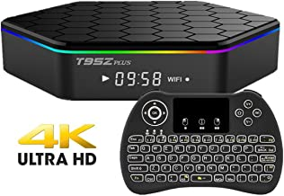 EVANPO T95Z PLUS Android 7.1 TV Box Amlogic S912 Octa-Core CPU 2GB RAM 16GB ROM (Backlight Wireless Keyboard Included)