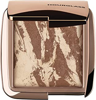 Hourglass Ambient Lighting Bronzer in Diffused Bronze Light. Highlighting Bronzer for a Natural Sun-Kissed Glow. Vegan and Cruelty-Free.