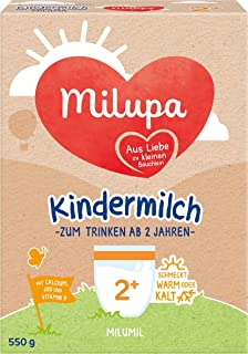 Milumil儿童牛奶 2岁,5包(5 x 550克)