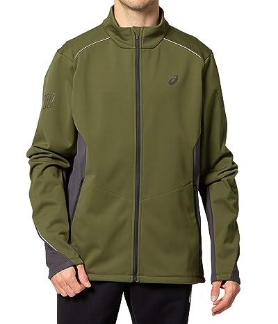 ASICS Lite-Show Winter Jacket (Smog Green/Graphite Grey) Men