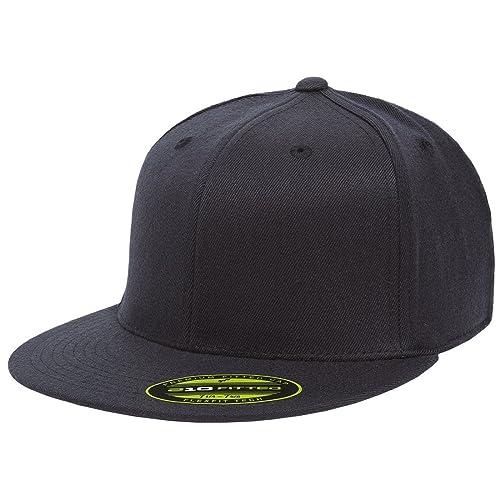 08c35eb4e Flexfit Premium 210 Fitted Flat Brim Baseball Hat
