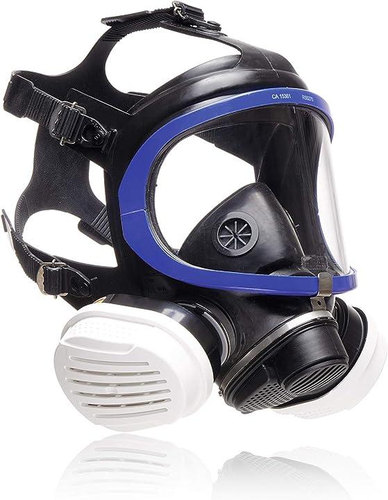 Maschera di protezione respiratoria per pittori e verniciatori | contro gas, vapori, polveri sottili dräger 3713460
