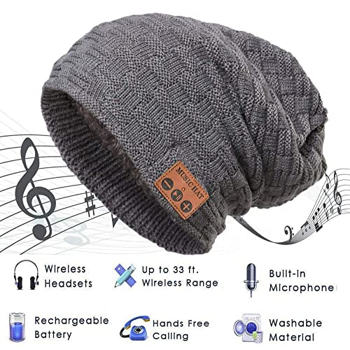 8951613111a Best Bluetooth Beanie  Amazon.com