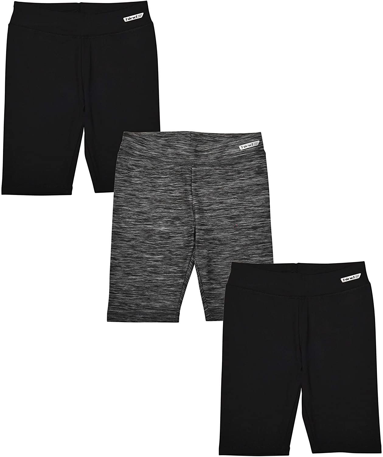 Hind 3-Pack Girls Sale Athletic Workout Max 78% OFF Shorts Clothes Bike