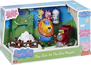 Character Optiions Peppa Pig Day out At The Zoo Playset