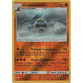 carte Pok/émon 74//147 Crabominable 140 PV