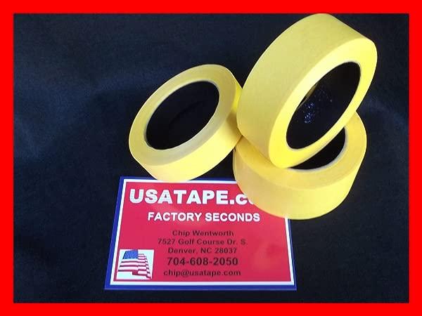 32 Rolls 1 1 2 X 60 Yrds Fine Edge Yellow Painters Masking Tape