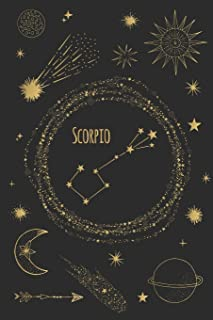 Scorpio: Horoscope Journal - Zodiac Notebook - A Great Scorpio Gift