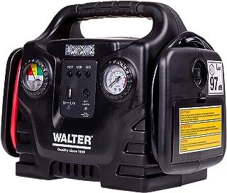 Walter Autostartgerät mit Kompressor/Autobatterie Starthilfe/inklusive 12 Volt Anschluss..