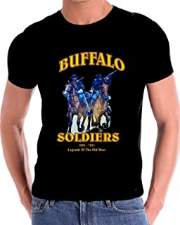 African American Buffalo Soldiers Tribute to Legends T Shirt