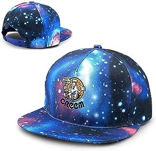 Boy Howdy! CREEM mag Unisex Starry Sky Gorras de béisbol Planas Sombrero Ajustable Gorra de béisbol Plana Bill
