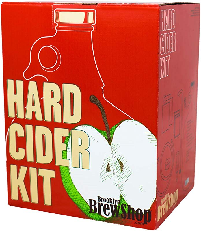Brooklyn Brew Shop Hard Cider Making Kit Starter Set With Reusable Glass Fermenter Equipment Ingredients Perfect For Making Craft Hard Cider At Home