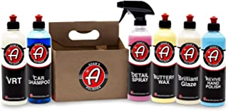 Adam's Exterior 6 Pack - Includes Six Iconic Products to Professionally Detail Your Entire Vehicle - Clean, Polish, Wax, Shine, and Protect Your Vehicle